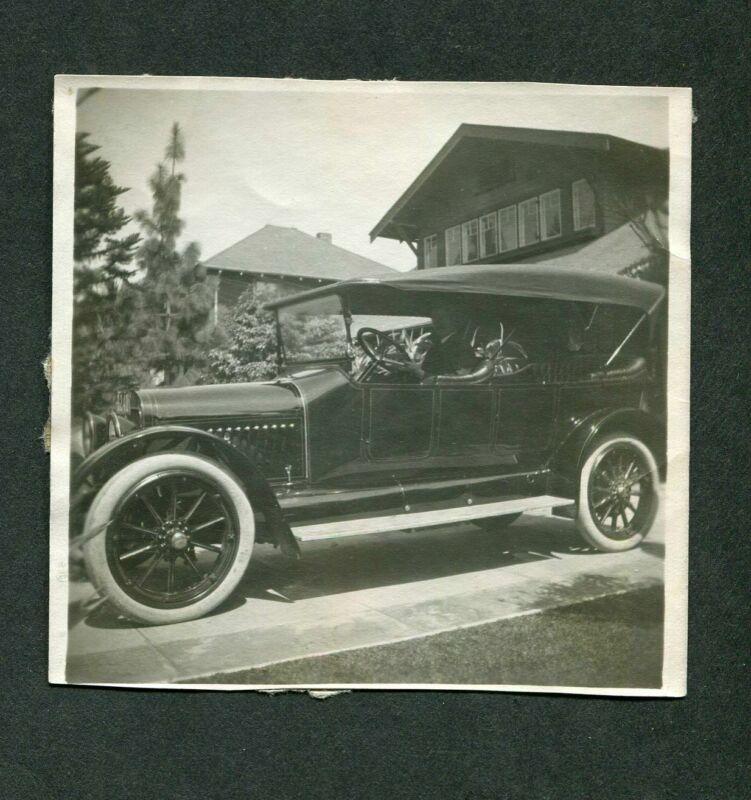 Vintage Car Photo RARE!! circa  1914 Premier Touring 395113