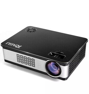 Ragu Z720 ,4K Lumen 1920*1080P LED Projector;FireStick,Roku,TV, IphoneCompatible