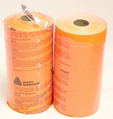 16 Rolls Of Avery Monarch 1100 Labels - New