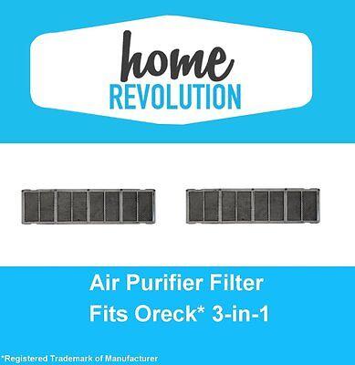 2 Filters for Oreck 3-in-1 Air Purifier AIR12B, AIRPS Super Air 7,AIR7B,AIR7C