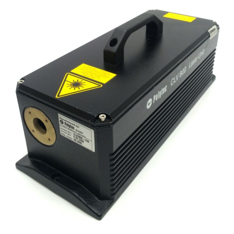 Polytec CLV-800 Vibrometer External Laser Unit, HeNe, Class 2, 620-700nm, 1mW