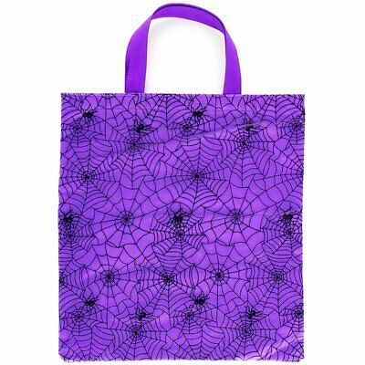 Halloween Spider Web Trick or Treat Tote Bag](Trick Or Treat Halloween Tote Bag)