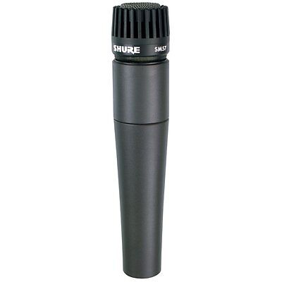 Shure SM57 Cardioid Dynamic Instrument with Microphone Mic Clip NEW!