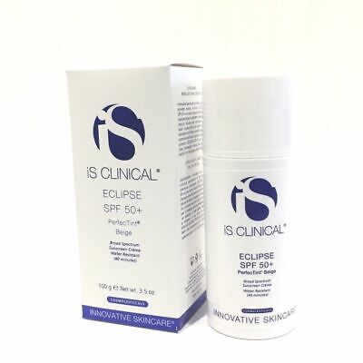 IS Clinical Eclipse SPF 50+ PerfecTint Beige 3.5oz- New in Box- exp.07/2022