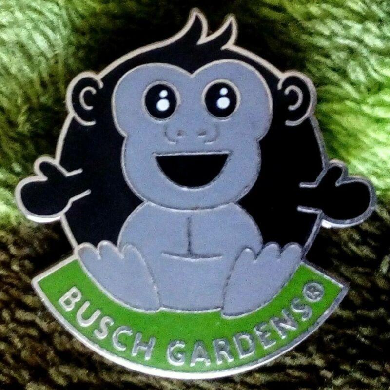 Busch Gardens Tampa Rare Retired GORILLA Pin