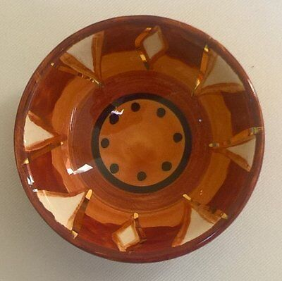 "Gorgeous Limpopo Ceramics ""Gold Sun"" Ramekin - New"