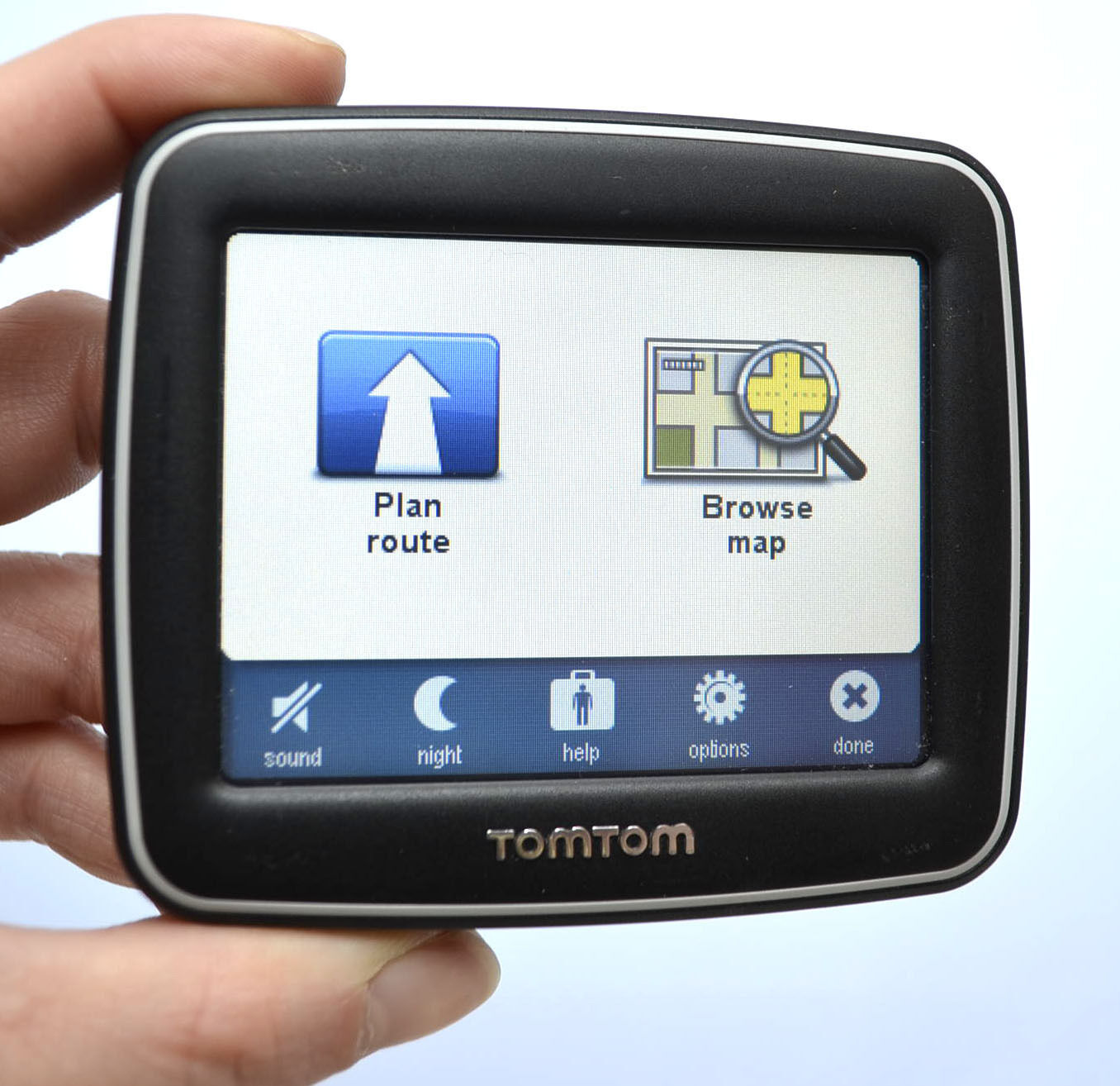 NEW TomTom BLACK EASE Set USA Canada North America Maps GPS 35 LCD