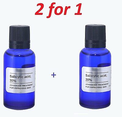 1 oz SALICYLIC Acid Skin Peel 30% Acne , Blackheads +++