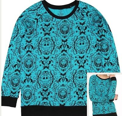 The Nightmare Before Christmas Pullover Top Sweatshirt Jumper Licensed S M L XL  ()
