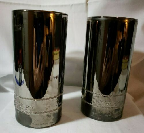 Snap on Chrome-look 7/16 SocketCollectible Advertising Drinking Glasses set of 4