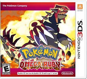 Jeux Pokémon DS - Y et Ruby Oméga