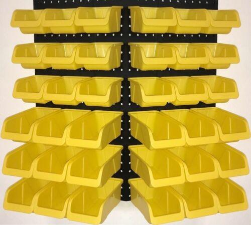 WallPeg 36 Pegboard Bins Part Bin Kit Hooks to Peg Board Panels Workbench Org...