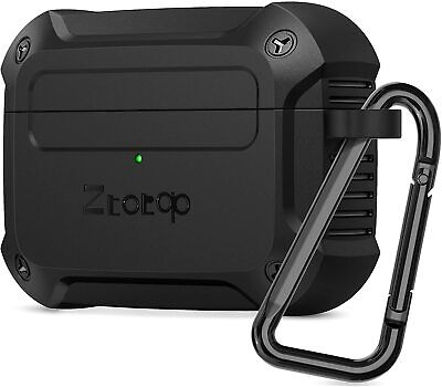 Ztotop Case for AirPods Pro 2019, Designed with Full Tough Protective Cover, LED