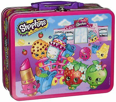 Pressman Toys Shopkins Assortment in Lunch Box Puzzle (100 Piece)