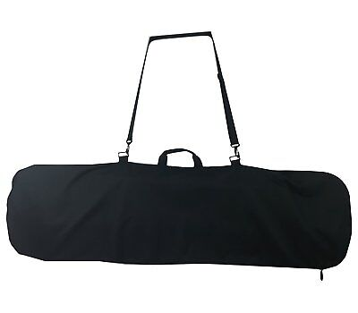 Snowboard Bag, Board Sleeve Black 55 inch bag for Smaller Boards Youth.  Blackened Board Bag