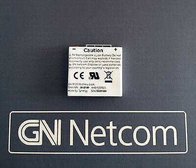 GENUINE Jabra GN Netcom GN9120 GN9125 Replacement Headset Battery 0440-409 (Gn Netcom Headset Battery)