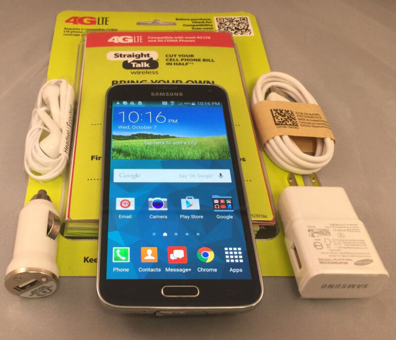 Samsung Galaxy S5  Black or White 16/32/48GB