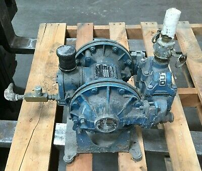 Sandpiper Air Powered Double Diaphragm Pump Sb9-a Sn 4-a 1 Inletoutlet