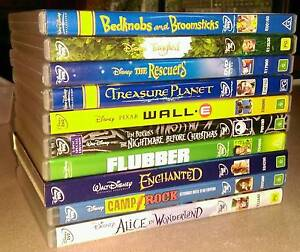 Disney DVD collection Westmeadows Hume Area Preview