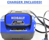 KOBALT 40V 2.5AH RECHARGEABLE LI-ION  BATTERY & CHARGER SET {2576}