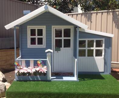 Tuff Cubbies Malibu Timber Kids Cubby House Toy Playhouse Kingswood 2747 Penrith Area Preview