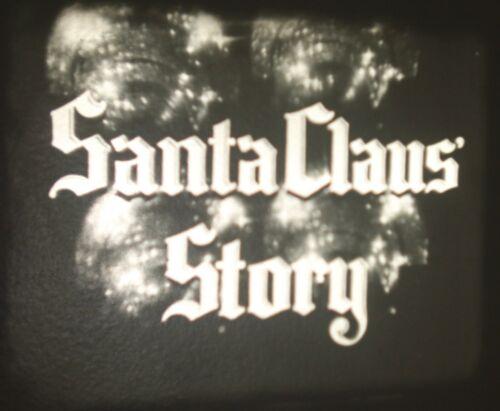 VINTAGE 16MM SANTA CLAUS STORY CHRISTMAS FILM