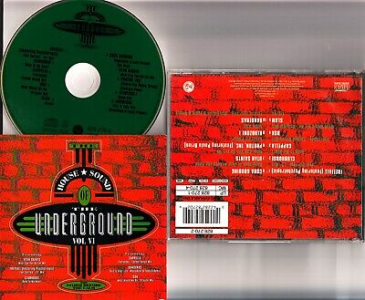 House Sound of the Underground Vol.6 VI CD (1991) Best Hip/Cappella/Slam/DSK