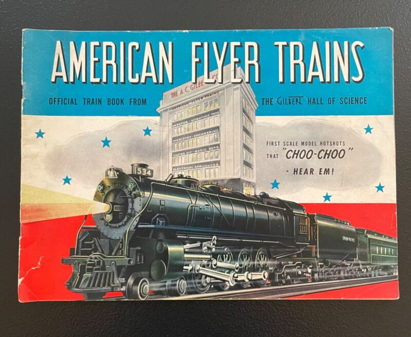 1941 American Flyer Trains Catalog FREE SHIPPING Vintage
