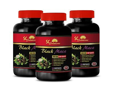 muscle building supplements for men - BLACK MACA - energy boost big train 3 BOTT