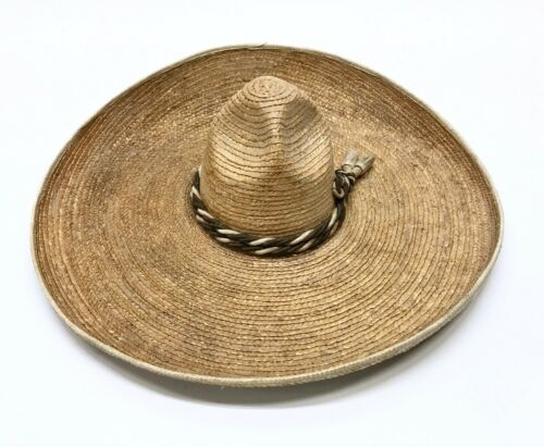Early Rustic Pigalle Sombrero XXXXX Fantasic Mexican Hat Tejano Vaquero Antique