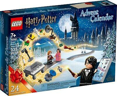 LEGO Harry Potter Advent Calendar (75981) NIB Unopened Christmas