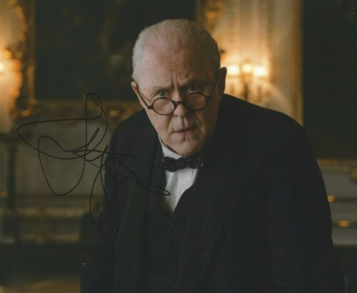 John Lithgow Signed The Crown 10x8 Photo AFTAL