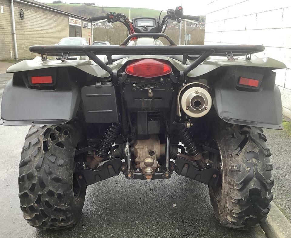 2018 SUZUKI KINGQUAD LTA500XP POWERSTEERING AUTO ATV QUAD OFF ROAD 4X4