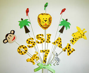 Jungle-animal-birthday-cake-topper-personalised-with-any-name-and-age
