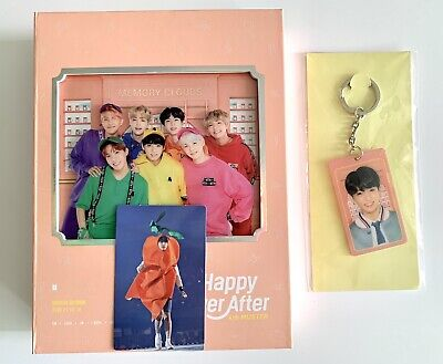 BTS 4th Muster Happy Ever After DVD With Jungkook Photocard +Lenticular Keyring