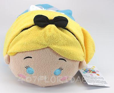 """New Authentic Disney Store Alice in Wonderland Medium Tsum Tsum 10"""" Plush"""