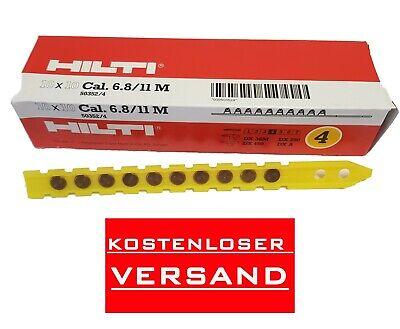 Hilti DX Kartusche 6.8//11 M10 STD rot #416478 NEU OVP