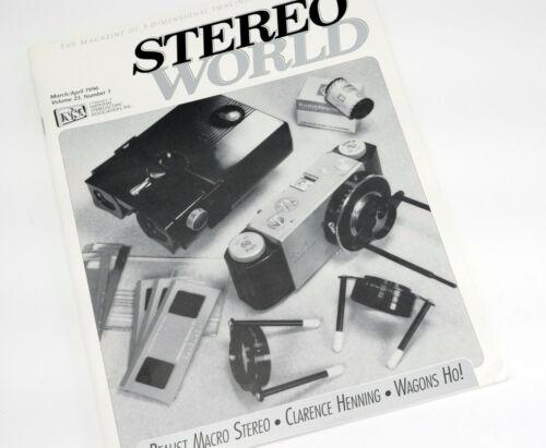 Macro Stereo Realist article - Stereo World magazine 23-1 (1996)