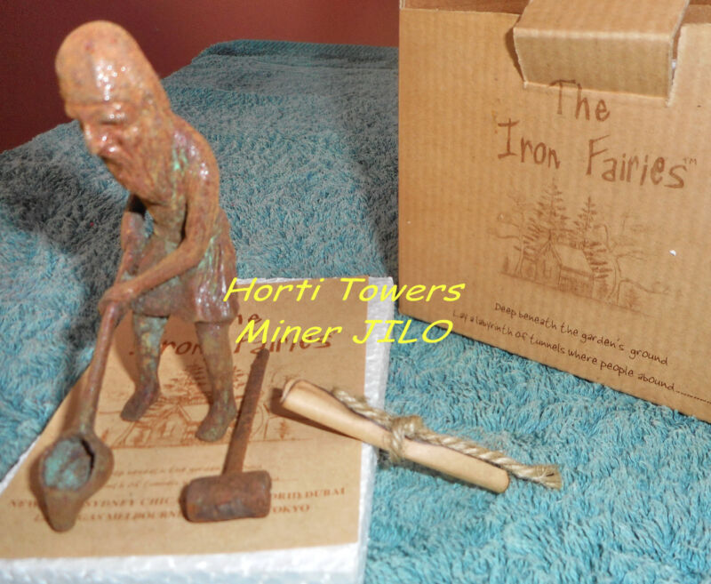 """Grumpy Old Miner JILO in New Boxed/Strung Pkgng  (Maker of """"The Iron Fairies"""")"""