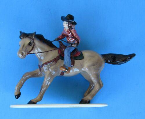 Hagen-Renaker 03355 Barrel Racer Ceramic Figure