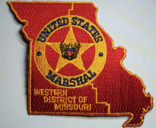 US Marshal Western District of Missouri Patch // FREE US SHIPPING!