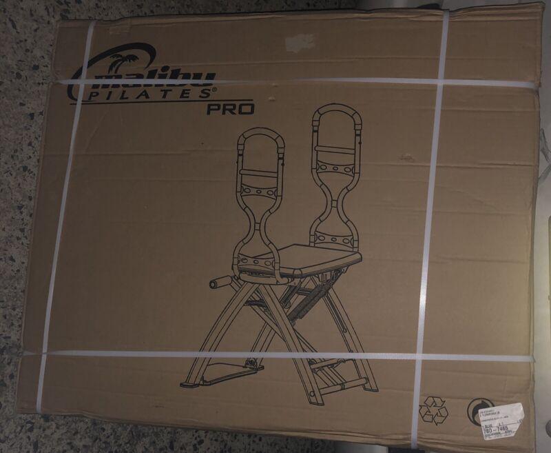 MALIBU Pilates PRO CHAIR Sculptor Workout Abs Gym Bench w/ Sculpting Handles