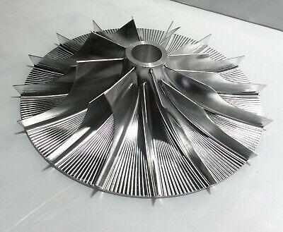 Turbo Billet Compressor Wheel For Supercharger PISC ( 85.7 / 157.5 mm ) 8+8