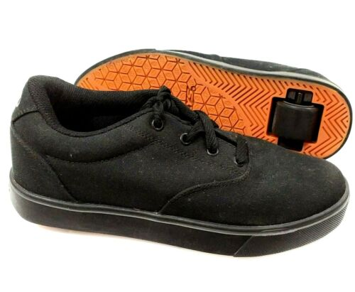 Heelys Launch Mens / Youth Wheeled Skate Shoes Size 39 / 7 US Black 770155
