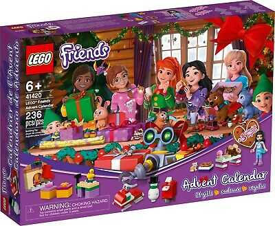 Lego Friends: Advent Calendar (41420) NIB Unopened Christmas