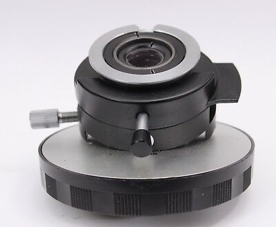 Nikon Optiphot Microscope Intermediate Dic Adapter Nosepiece Analyzer Polarizer