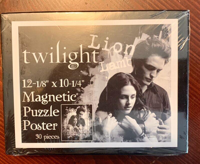 NEW Twilight Saga Magnetic Puzzle Poster Magnet Merchandise Valentine