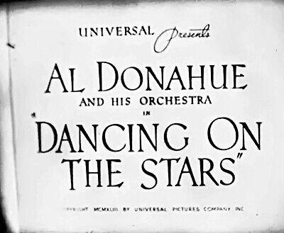 16mm ORIG WW2 Universal swing era musical short. 1943