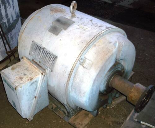Siemens Electric motor Hp 300 Volts 2300 Rpm 1775 Frame 505U