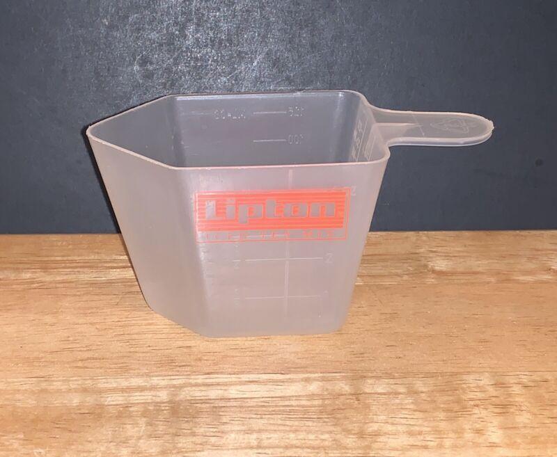 PLASTIC 1/2 CUP LIPTON ICED TEA MIX POWDER SCOOP